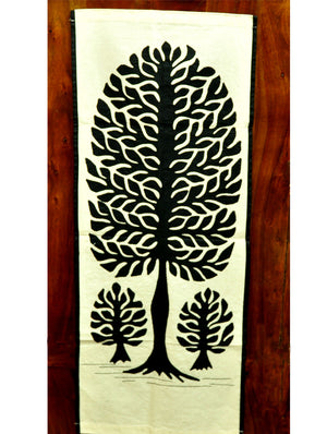 Applique Work - Wall Hanging, Canvas - The India Craft House