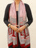 Bagh Hand Block Printed Modal Silk Stole - The India Craft House