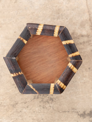 Bamboo Wooden Stationery Holder - The India Craft House