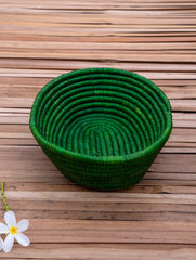 Bhadohi Basket Craft - Utility Basket, Oblong