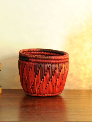 Bhadohi Craft - Pen & Stationery Holder - The India Craft House