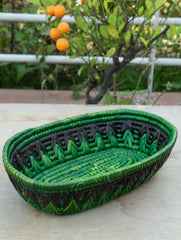Bhadohi Basket Craft - Multi-Utility Oblong Basket
