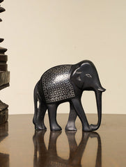 Bidri Craft Curio - Elephant (Medium)