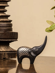 Bidri Craft Curio - Elephant (Small)