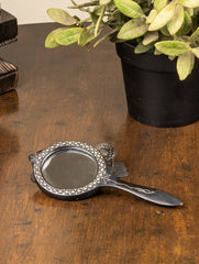 Bidri Craft Hand Mirror