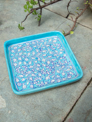 Blue Pottery Utility  Serving Dish