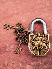 Brass Locks ☼ Goddess Durga