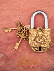 Brass Locks ☼ Infant Krishna