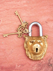 Brass Locks ☼ Lion