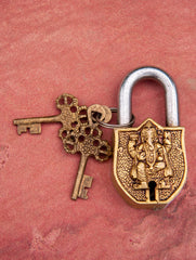 Brass Locks ☼ Lord Ganesha (Small)