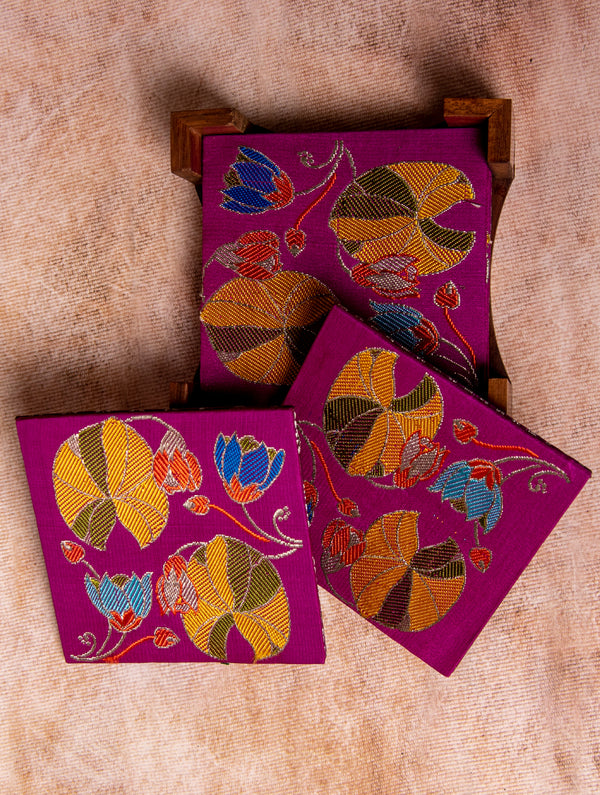 Brocade - Reversible Coaster Set