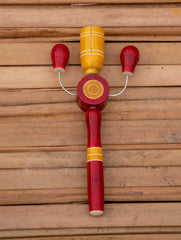 Channapatna Wooden Toy- Kit Kat Rattle