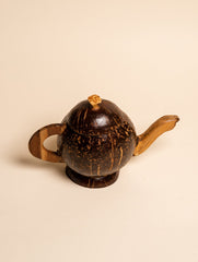 Coconut Craft Curio - Teapot