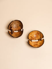 Coconut Craft Soap Dishes (Set of 2)