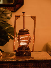 Coconut Craft Table Lamp