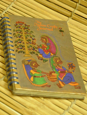 Diaries & Journals - The Indian Crafts Journal - The India Craft House 1
