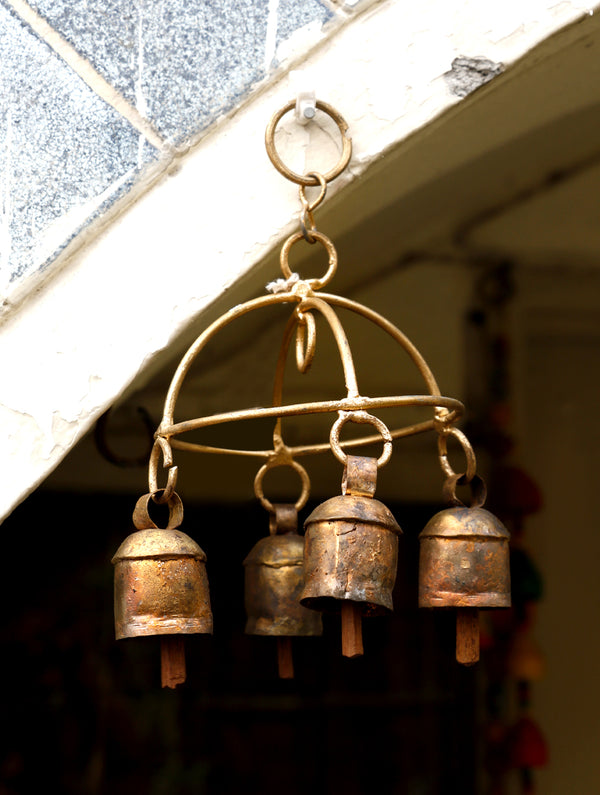 Copper Bell Strings - The India Craft House