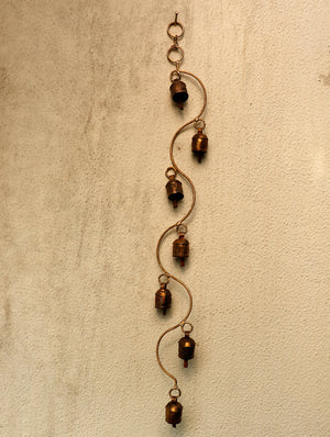 Copper Bell Strings - The India Craft House 1