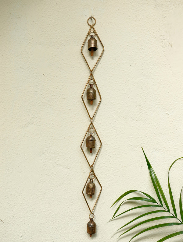Copper Bells String - Single, Long - The India Craft House