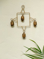 Copper Bells String On Square Shaped Frame
