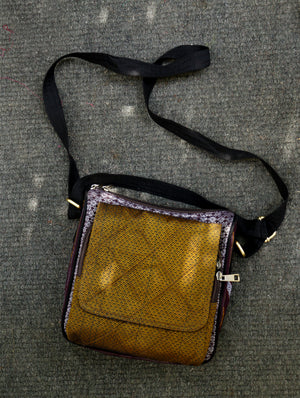 Cross Body Travel Bag - Khand (Small). - The India Craft House