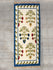 Handwoven Kilim Long Runner Rug (6 x 2 ft) - Floral - The India Craft House