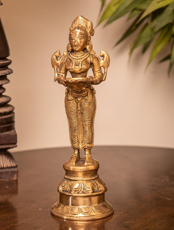 Deepa Lakshmi Brass Oil Lamp