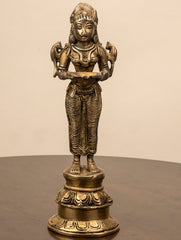Deepalakshmi Brass Oil Lamp