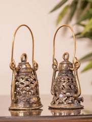 Dhokra Craft - Exquisite  Lantern (Mini, Set of 2)
