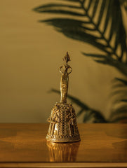 Dhokra Craft Curio - Ornate Bell