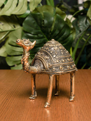 Dhokra Craft Curio (Medium) - Camel