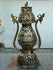 Dhokra Craft - Exquisite Lantern with Figurines - The India Craft House