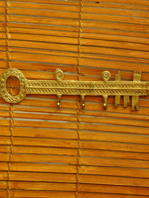Dhokra Craft - Key Hanger - The India Craft House