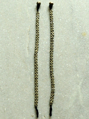 Dhokra Metal Craft Anklets - The India Craft House 1