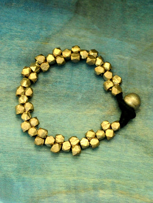 Dhokra Metal Craft Bracelet - The India Craft House 1
