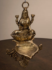 Elegant Lakshmi Wall Oil Lamp