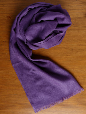 Fine, Soft Kashmiri Wool Muffler - The India Craft House