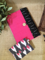Gift Set - Ikat Flap Diary & Coin Pouch (Set of 2)
