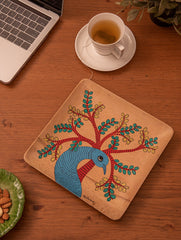 Gond Art Wooden Tray