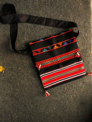 Hand Embroidered Sling Bag - The India Craft House 1