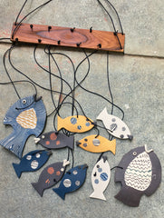Handcrafted Ceramic Chimes (Ocean Life)