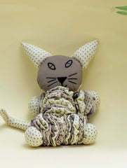 Handcrafted Cloth Yoyo Toy - Cat