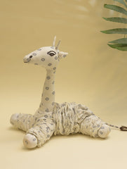 Handcrafted Cloth Yoyo Toy - Giraffe