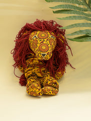 Handcrafted Cloth Yoyo Toy - Lion