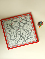 Handcrafted Snakes & Ladders Board Game