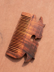 Handcrafted Wooden Comb (Small)