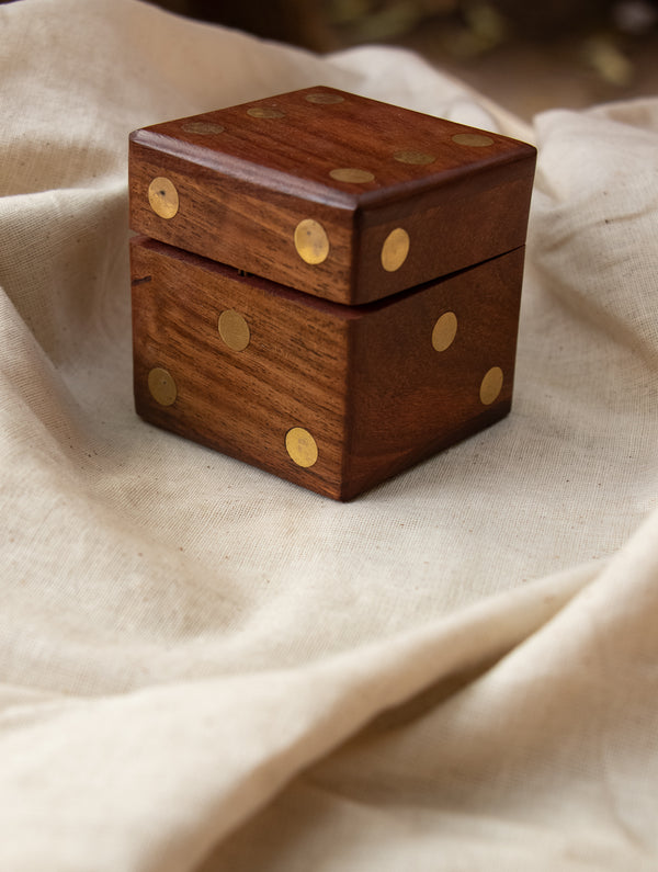 Handcrafted Wooden Dice-In Dice Game
