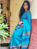 Handloom Fine Khadi Cotton Andhra Saree (With Blouse Piece)