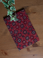 Handmade Ajrakh Cloth Covered Diary