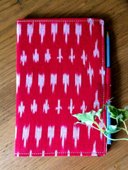 Handmade Ikat Cloth Covered Diary